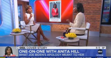 ABC Adores Anita Hill, Blasey-Ford: 'Took a Stand, Educated a Nation'