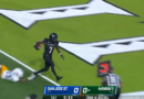 Calvin Turner rushing TD gives Hawaii a lead 7-0 over San Jose State